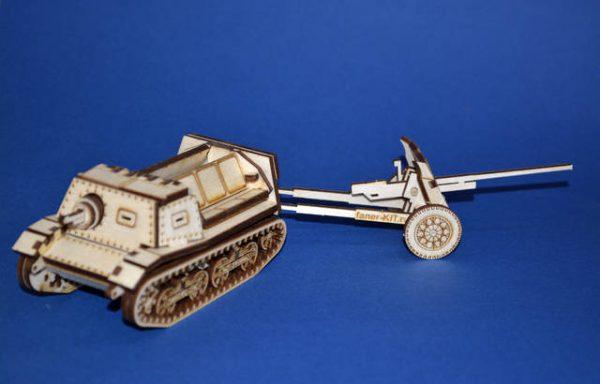 Т-20 с 45мм противотанковой пушкой